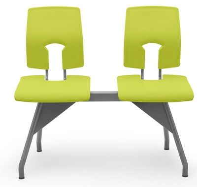 Green Double Bench