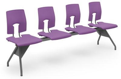 Purple Quad Bench