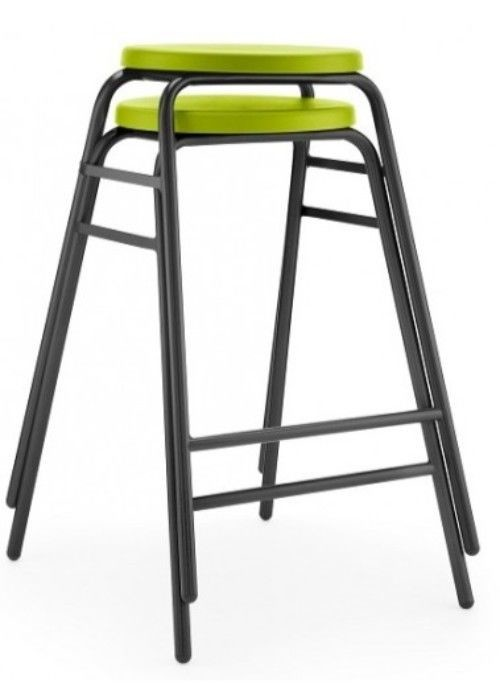 An image of Hille Round Top Stools - Plastic Chairs for Schools