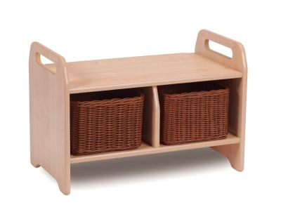 Kidre Storage Bench Small With Baskets