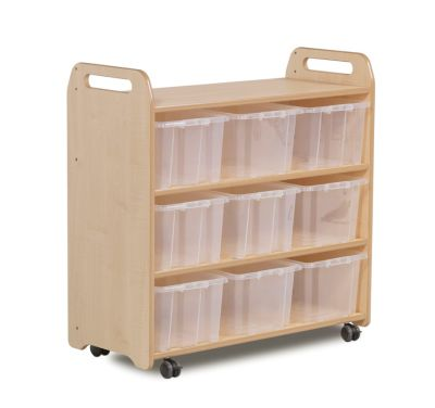 Kidre Mobile Shelf With Back