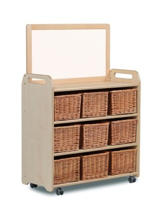 Kidre Mobile Storage With Mirror Add-On Unit With Baskets