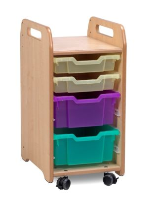 Kidre Tray Storage 2 Shallow 2 Deep