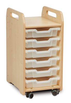 Kidre Tray Storage 6 Shallow Trays