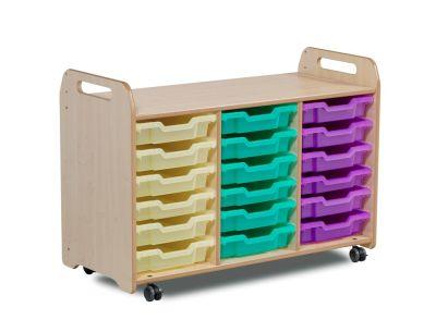 Kidre 18 Shallow Tray Storage