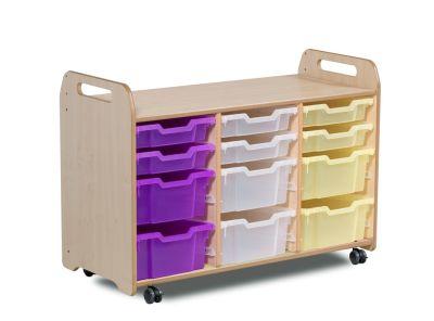 Kidre 6 Shallow 6 Deep Tray Storage