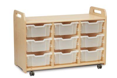 Kidre 9 Deep Clear Tray Storage