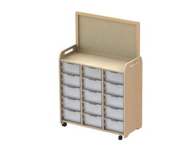 Kidre Tray Storage With Display Add-On 15 DeepTrays