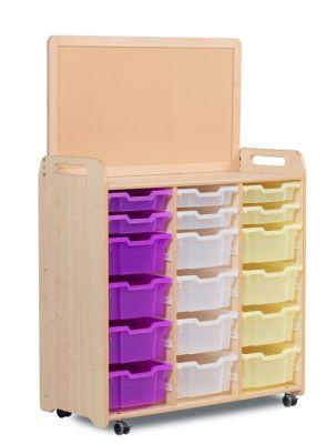 Kidre Tray Storage With Display Add-On 6 Shallow Trays 12 Deep Trays