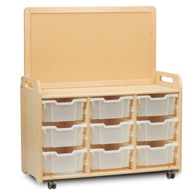 Kidre Tray Storage With Display Add-On 9 Trays