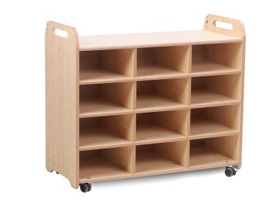 Kidre 3 Column Shelf Storage No Trays