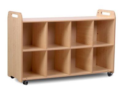 Kidre 4 Column Shelf Storage No Trays