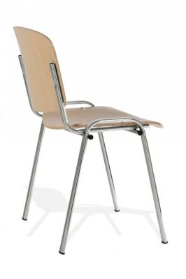 Telaio Wooden Chair Side Angle