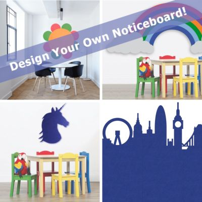 Custom Designer Notice Board - A Shape, Size And Design Of Your Choosing