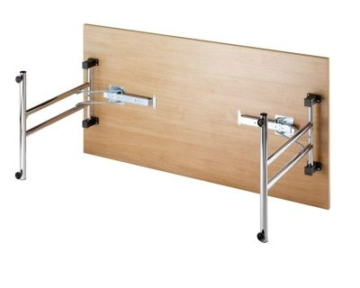 Forix Folding Table Side View
