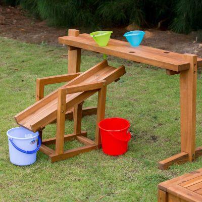Outdoor Rack For Funnels And Slide Shot