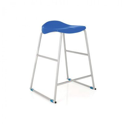 Blue Titan Lab Stool