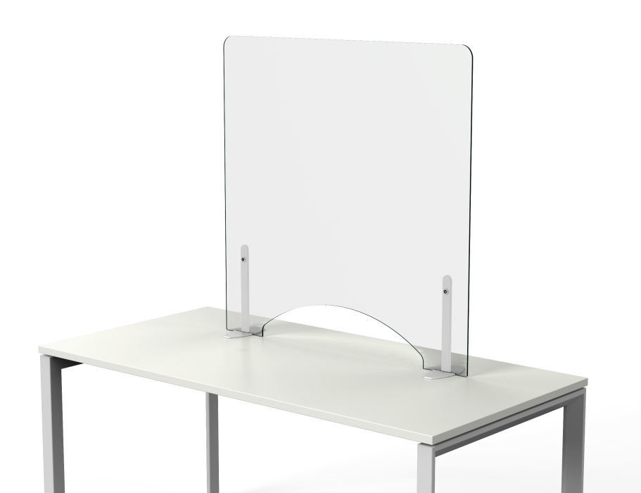 An image of Orion Deluxe Protection Desk Screen - Screens and Room Dividers