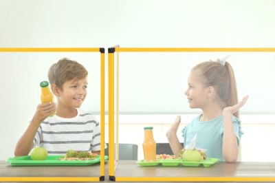 PROTECT CLASSROOM TABLE GLASS PROTECTION SCREEN 4