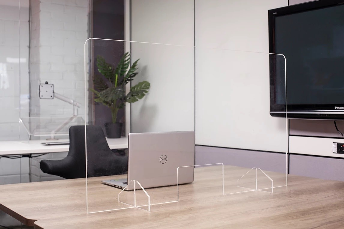An image of Orion Acrylic Sneeze Protection Screen - Screens and Room Dividers