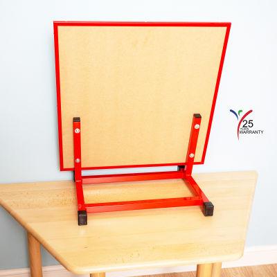 Large Multipurpose Desktop Easel Red 5