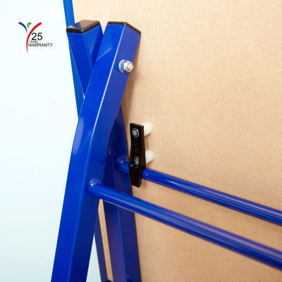 Fully Height Adjustable Mobile Easel Blue 9