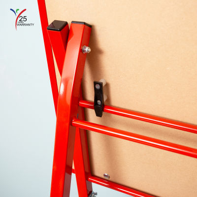 Fully Height Adjustable Mobile Easel Red 9
