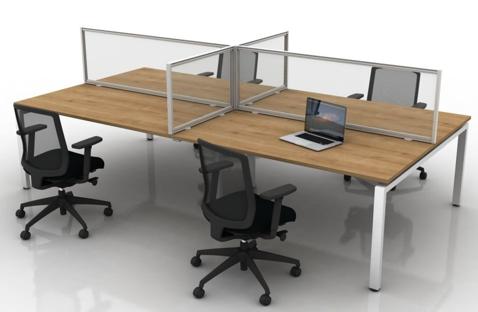 An image of Orion Protect Acrylic Desk Screens - Screens and Room Dividers