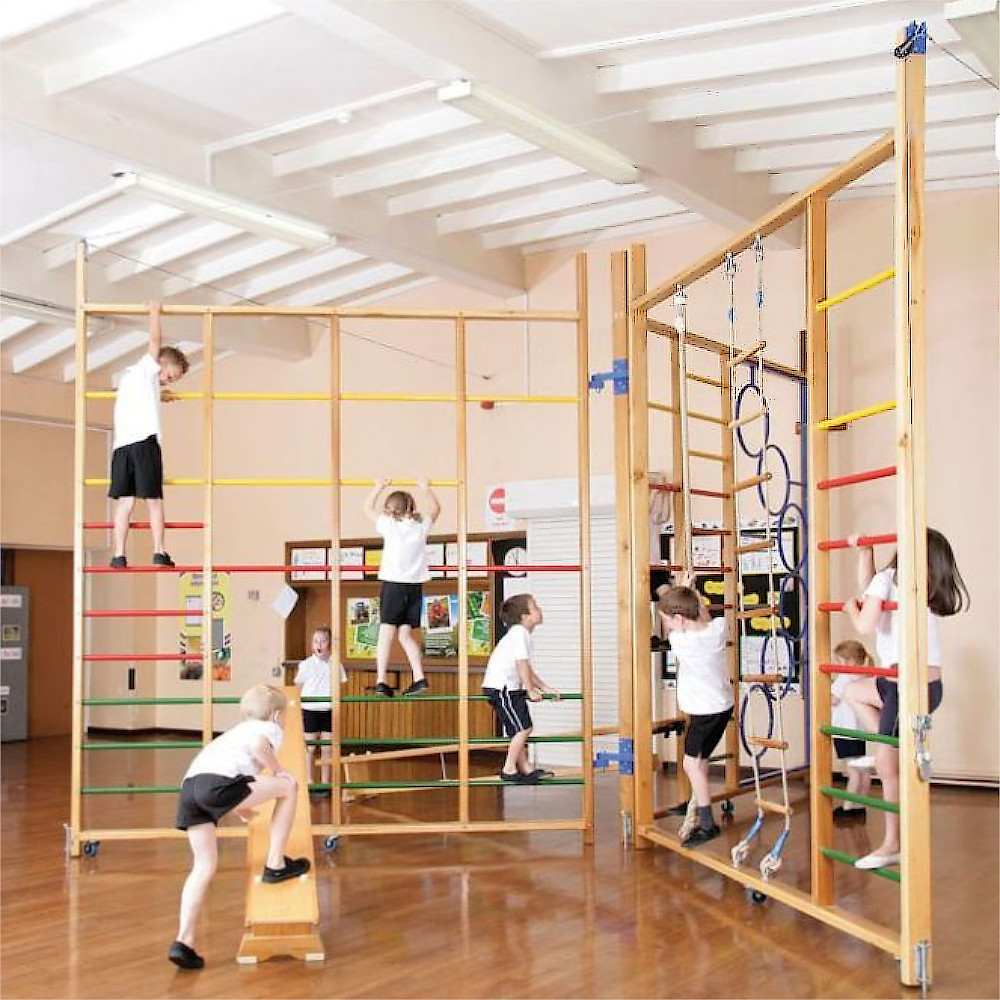 An image of Orangu Combi Climbing Frame - Gym Equipment