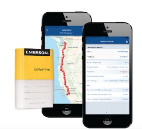 Emerson GO Real-Time tracker mobile