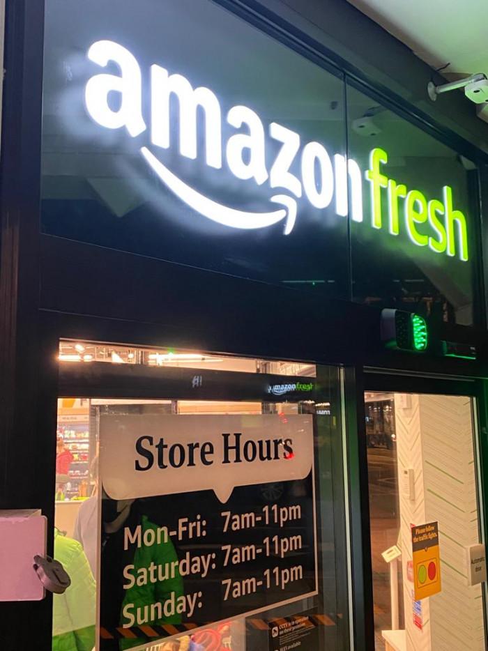 GB Amazon Fresh London 2