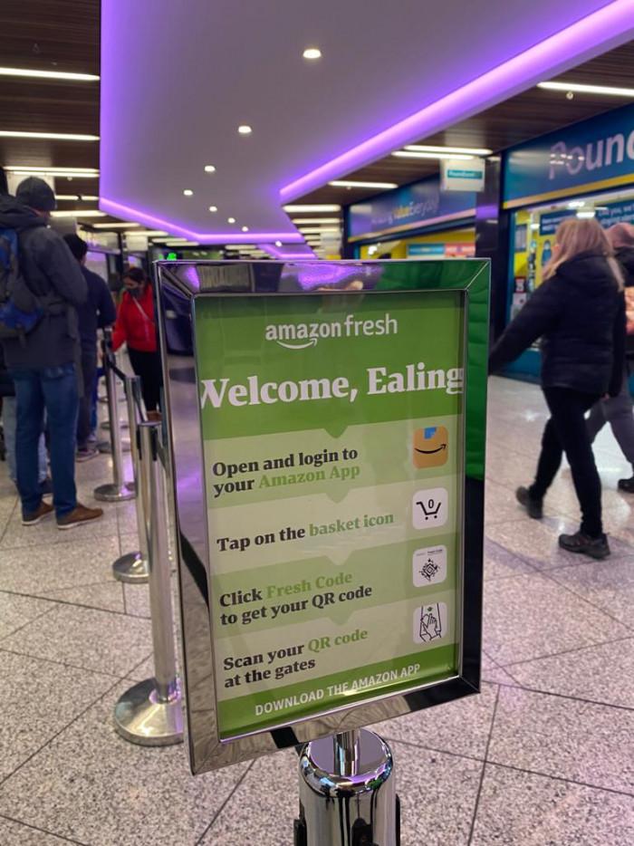 GB Amazon Fresh London 4