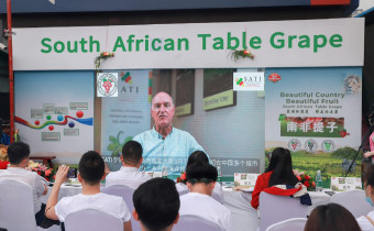 South Africa grape event China 2021 video wall