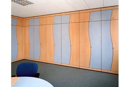 Storage wall 1