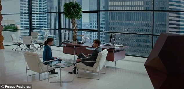 50 Shades of Grey Executive Office Space