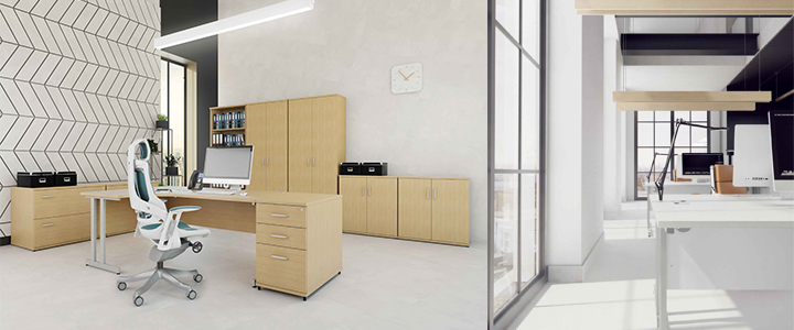 Solar Bench Desk System