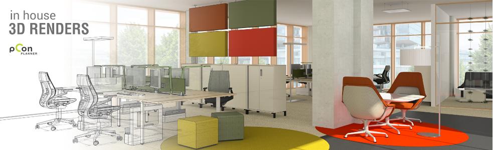 Design Header Banner 3D Render 09072019