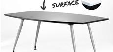 Opal High Gloss Boardroom Tables