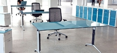 Glass Office Furniture