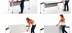 Kite Modular Folding Tables