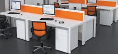 White Office Desks