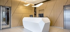 'Invite' Corian Reception Desks