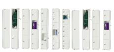 All White Lockers