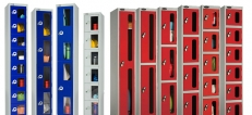 Lockers with Vision Panels