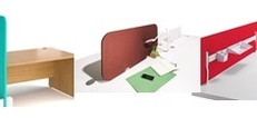 Fabric Desk Screens