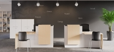 Fifty Fifty Reception Desk