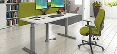 Elev8 Mono Desking, Screens and tables