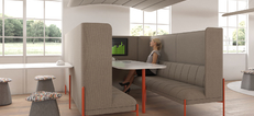 Kastaway: Low and High Back Sofas & Booths