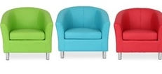Antibacterial Tub Chairs