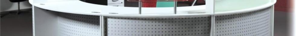 Vision Modular Reception Desks for sale